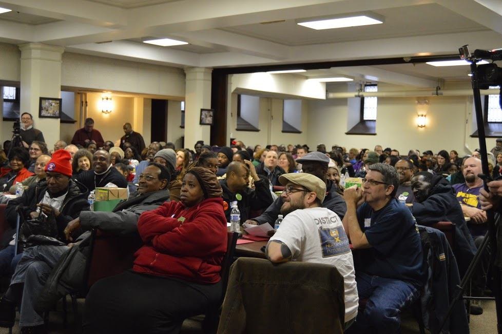 Over 300 people from across PA attended.