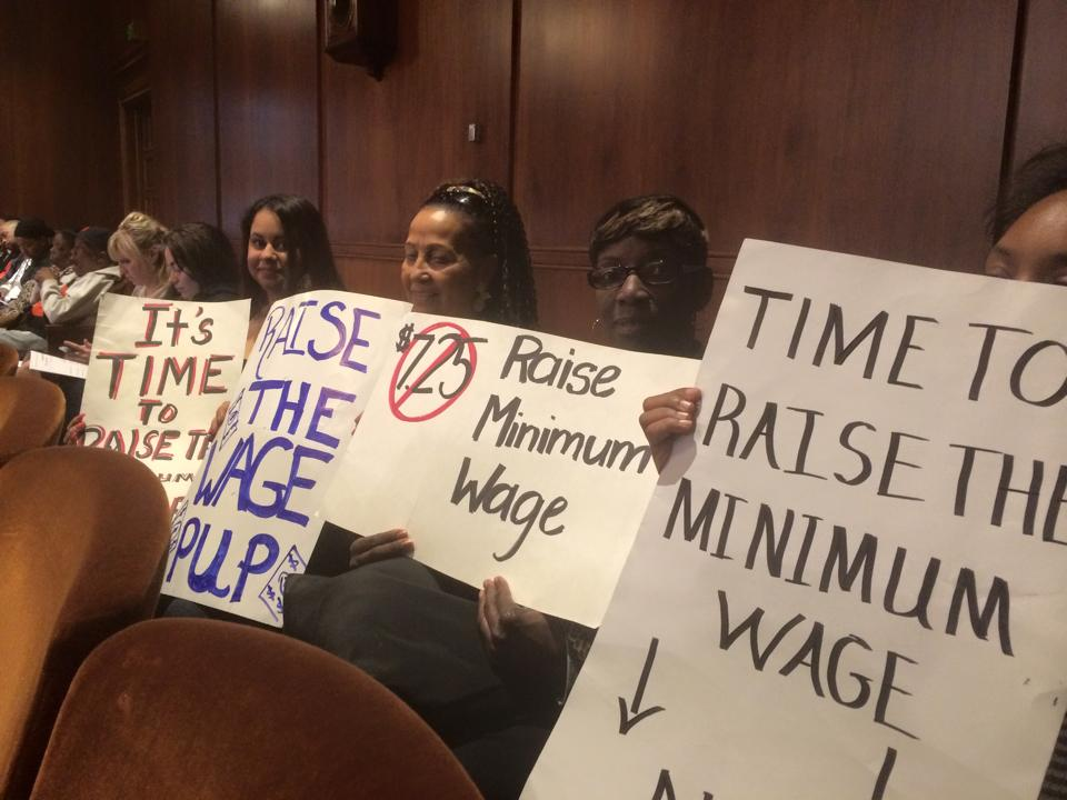It's time to raise the minimum wage.